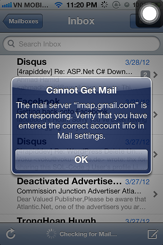 cannot get mail on iphone bem informado italia gmail iphone 4s 16766